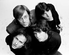 The Doors. The Doors band, John Densmore, Robby Krieger, Raymond Manzarek, and…