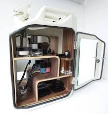 Bathroom Cabinets And Bars Made From Recycled Jerry Cans, By Danish Fuel