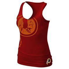 Nike Washington Redskins Women s Big Logo Tri-Blend Tank - Burgundy Redskins  Apparel 97b7d1499