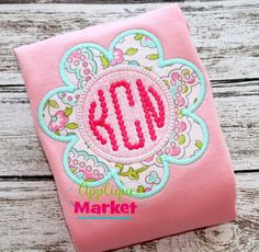 Applique Market has a wonderful selection for all of your holiday custom design needs. Create a festive Easter outfit with this flower frame Applique design.