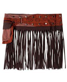 Hoopla Tassel Belt: Soul Flower Clothing