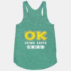 Oozma Kappa: We're Okay!