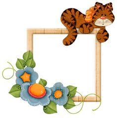 Frames e Molduras de gatinho