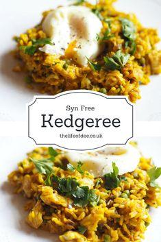 Syn Free Kedgeree ideal for brunch, lunch or dinner. #synfree #slimmingworld #recipes #kedgeree