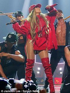 Jennifer Lopez, 48, flashes her bottom