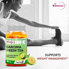 St.Botanica Garcinia Cambogia Green Tea is the best alternate for drinking green tea with additional benefits like boosting metabolism and weight management.