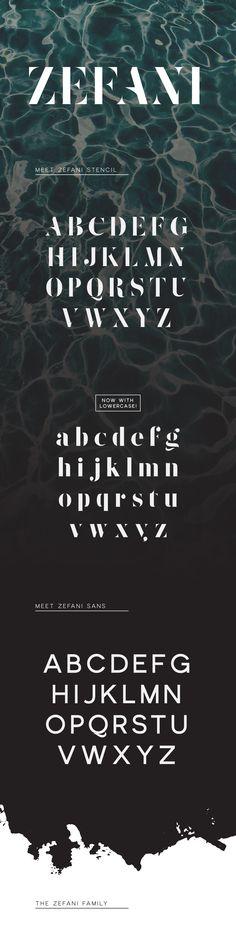 Zefani - Free Typeface on Behance