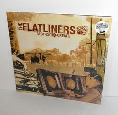the FLATLINERS destroy to create LP Record SEALED Vinyl , fat wreck chords PUNK #punkPunkNewWave