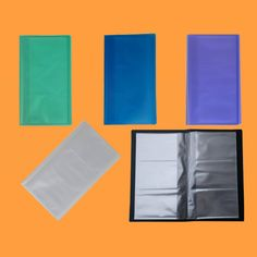 Hs304 side open a4 sheet protector subsidiary pinterest products hs572 72 pockets business card holder colourmoves