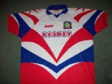Doncaster Dragons 1990's Rugby League Shirt Adults XL Top