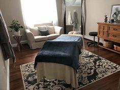 Beautiful massage room