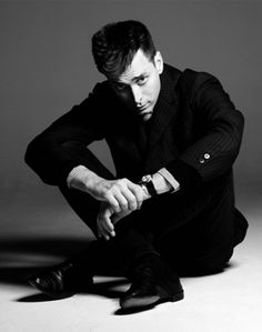 Hedi Slimane, the new creative director at the company formerly known as Yves Saint Laurent.