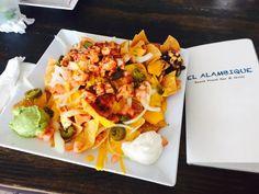 Nachos at El Alambique Bar & Grill by Rico B.
