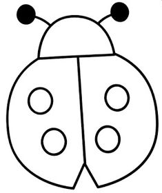 Malvorlagen Kindergarten Schmetterling: Marienkäfer Ausmalbild 07 The Effective Pictures We Offer Yo Ladybug Coloring Page, Preschool Coloring Pages, Easy Coloring Pages, Animal Coloring Pages, Preschool Activities, Coloring Books, Easy Doodles Drawings, Simple Doodles, Applique Patterns