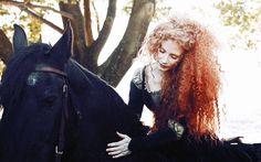 Jessica Chastain is Brave's Merida