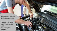 Vorsicht beim Gebrauchtwagenkauf Motorraum anschauen: Motor vor allem an der Unterseite trocken und sauber? #winterreifen Motor, Winter Tyres, Used Cars