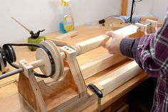 How to Build Your Own Lathe Out of Wood | Mental Floss