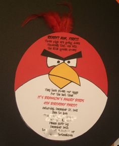 """Photo 23 of 23: Angry Birds / Birthday """"Branson's Angry Birds Party"""""""