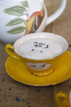 How To Make Lavender Earl Grey Lattes For A Cozy Day Indoors