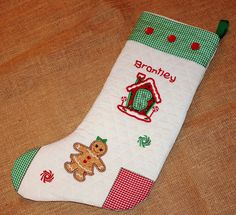 FlyAwayHome: Brantley's Christmas stocking and a family of gingers