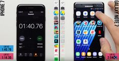 iPhone 7 Crushes Galaxy Note 7 in Speed Test