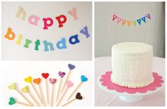 Jayme Marie Designs: A party design board : rainbow party