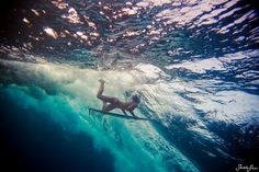 #underwater #surfing