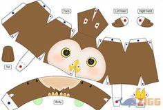 Message Doll (Graduação) Papertoy download Multiplataforma - Um papertoy simpático para presentear seus amigos graduados.