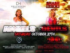 Halloween Weekend - Dollhouse & Smashboxx - 10.27.12