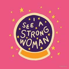 I see a strong woman/ quotes/ life motivation + Inspiration/ word up/ graphics/ art prints/ typography/ feminism/ feminsit art/ girl gang/ female empowerment Framed Art Prints, Canvas Prints, Wall Prints, Fun Prints, Strong Girls, Stay Strong, Illustrations, Women Empowerment, Female Empowerment Quotes