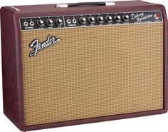 "Limited Edition '65 Deluxe Reverb® ""Bordeaux Blues"" FSR   Vintage Reissue Series   Fender®"