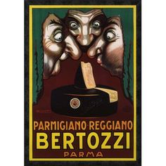 Global Gallery 'Bertozzi' by Luciano Achille Mauzan Framed Vintage Advertisement Size: