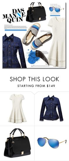 """Seize the day"" by mslewis6 ❤ liked on Polyvore featuring Rebecca Taylor, Gianfranco Ferré, Miu Miu and Michael Kors"