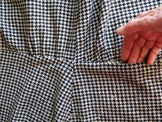 39 Waist seam and pocket. | Pocket completed. | annrowley | Flickr