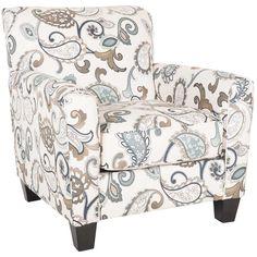 Yvette Paisley Accent Chair CC 779AC