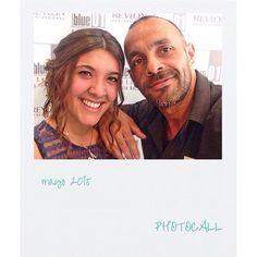 Pietro y una de sus clientas del salón de Sant Boi.  #blue01stylist #photocall #peluqueria… http://ift.tt/1MvtYD3