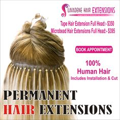 Choosing hair extension methods can be overwhelming since are so lavadene hair extensions melbourne specializes in various types of permanent hair extensions weft hair extensions micro bead hair extensions to weave pmusecretfo Gallery