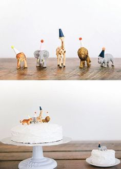 first birthday animal cake toppers Zoo Birthday, Happy Birthday, Animal Birthday, First Birthday Parties, Birthday Ideas, Birthday Design, Birthday Cakes, Party Animals, Animal Party
