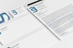 Monogrammed Stationery on Behance