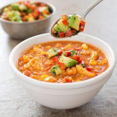 Slow-Cooker Spanish Chicken and Quinoa Stew