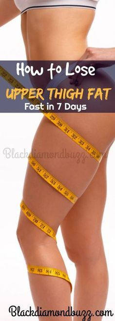 Best Thigh and Leg Exercises to Lose Upper Thigh Fat Fast in 7 Days. You can reduce inner thigh fat, outer thigh and hips fat fast with these workout in a week. Lose Thigh Fat, Lose Belly Fat, Lose Fat Fast, Get Skinny Fast, Thinner Thighs, Fat Thighs, Outer Thighs, Thigh Exercises, Outer Thigh Workouts