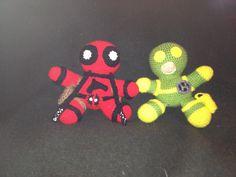 Ravelry: jenniferkm's Deadpool & Bob Agent of Hydra plushie / amigurumi