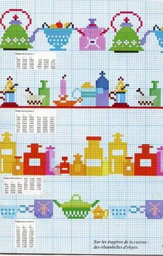 """Cross Stitch Borders garlands vintage cross stitch book - This is a page from """"Garlands"""" by DMC. Cross Stitch Boards, Mini Cross Stitch, Cross Stitch Samplers, Cross Stitching, Cross Stitch Embroidery, Vintage Cross Stitches, Vintage Embroidery, Embroidery Patterns, Cross Stitch Designs"""