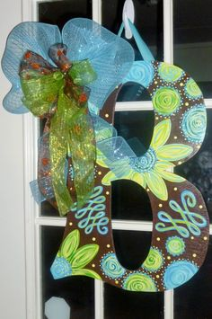 letter door decor