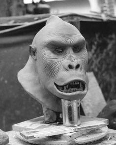 Don Post Studios Delgado Gorilla Mask Sculpture