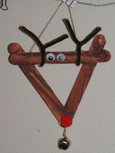 Reindeer craft - Put kid pic in middle maybe?