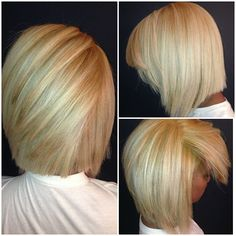 WEBSTA @ _dawnixx -  Last job of the day! @creolecody's first stage in going GRIS RUBIOOO  .. Asymmetrical bob cut with use of joico products