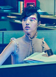 "Dreaming of Dior: ""Beauty Flash"" Tian Yi for Vogue China 2015"