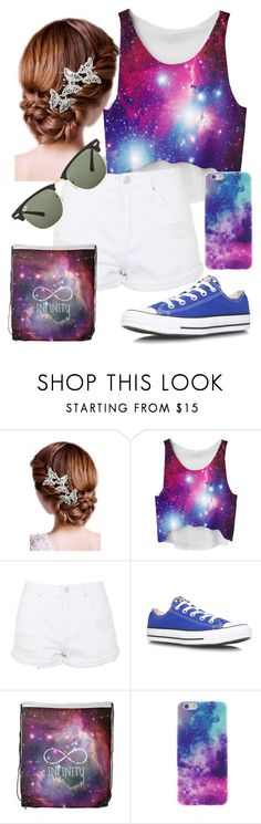 """Untitled #137"" by katiebooks on Polyvore featuring 16 Braunton, Topshop, Converse and Ray-Ban"
