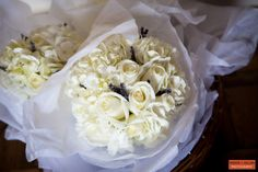 Flowers by Consider The Lilies, Boston, MA, White Rose Bridal Bouquet, Fresh Flowers, White Wedding Florals Inspiration, Boston Wedding Photographer, Boston Event Photography